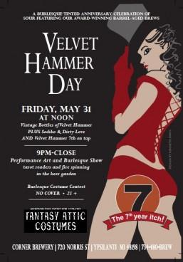 Velvet Hammer Day