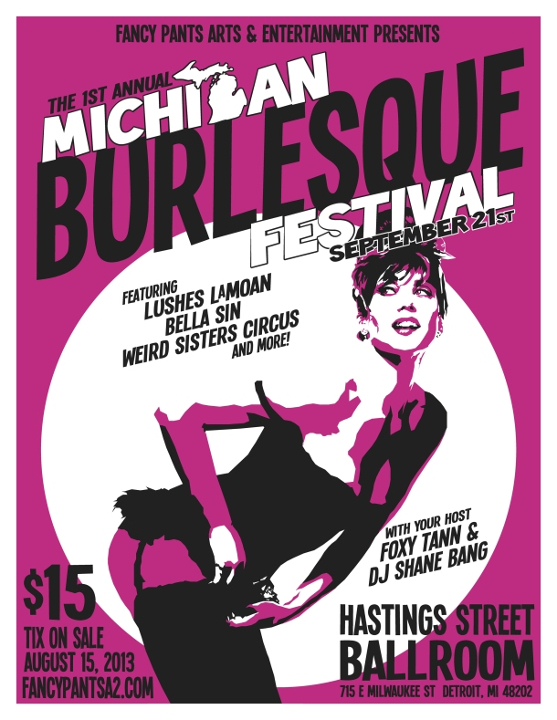 Michigan Burlesque Festival 2013