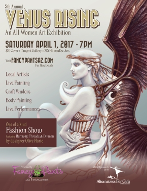 5th Annual Venus Rising: all women art exhibition