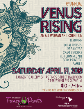 The 6th Annual Venus Rising: All Women Art Exhibition!!
